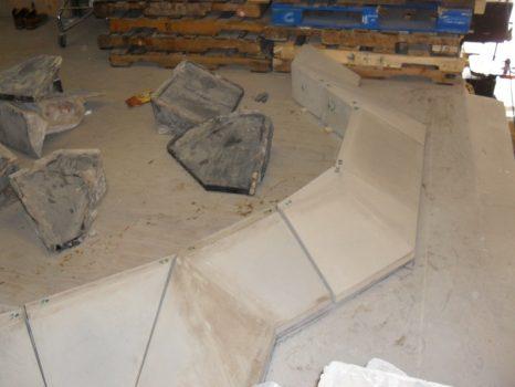 Angular Planter Wall units