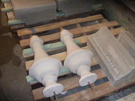 Finials and Water Table units